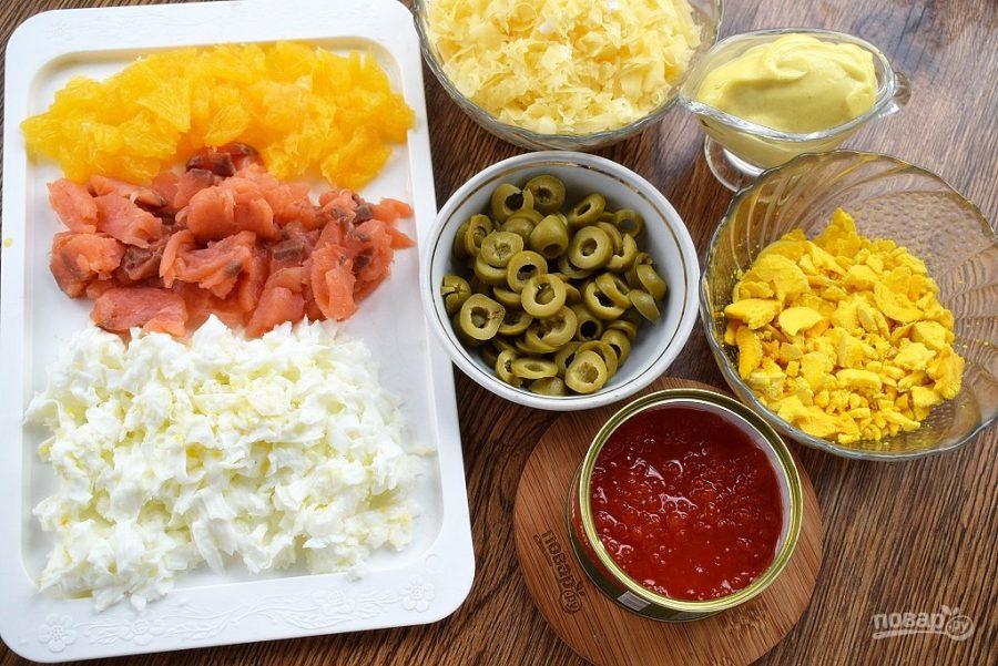 """Как приготовить салат """"Жемчужина"""""""