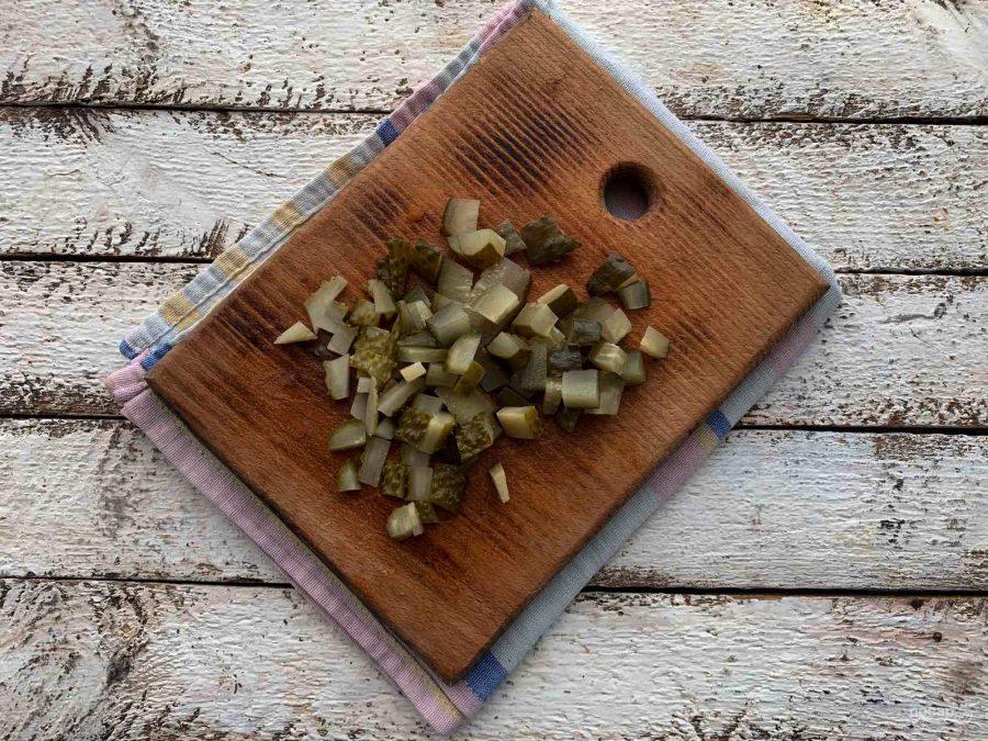 "Салат ""Огород"" на праздничный стол"