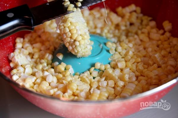 Томатная похлебка с кукурузой