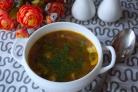 Диетический грибной суп с шампиньонами