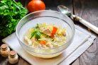 Диетический суп с лапшой