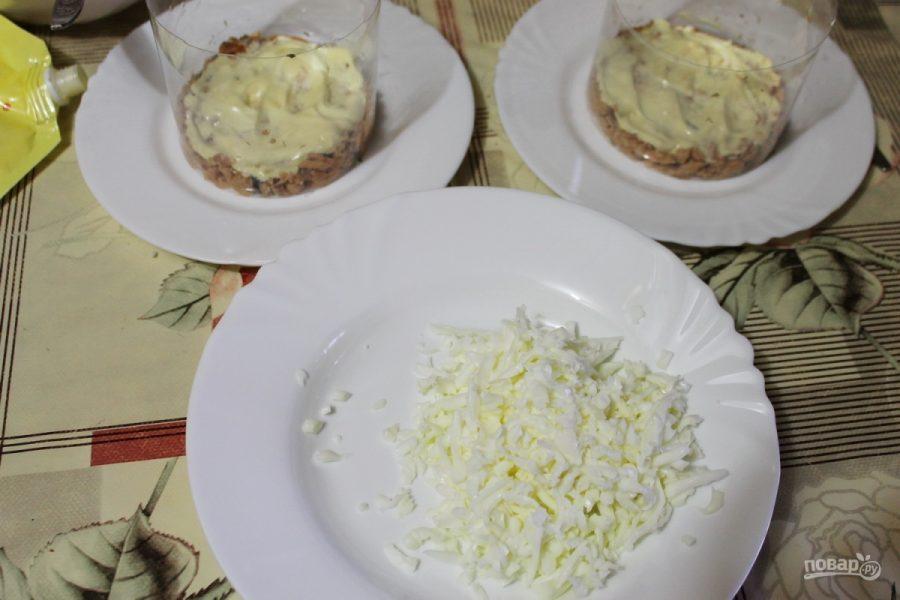 """Салат """"Мимоза"""" традиционный"""