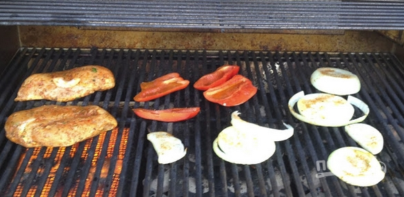 Салат из грибов и сыра
