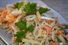 Диетический салат из моркови