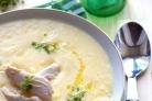 Куриный суп с миндалем