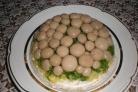 Салат Лукошко с грибами