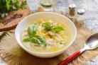 Куриный суп с базиликом