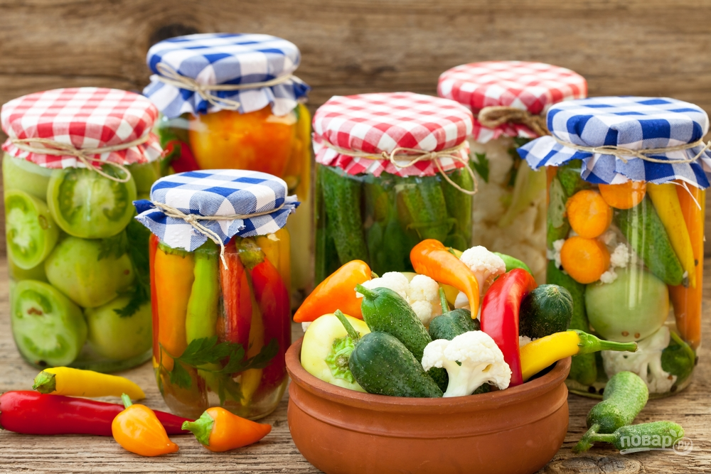Закатываем овощи на зиму