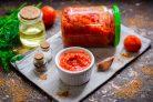 Анкл бенс из перца и помидоров