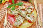 Закуска из баклажанов Язычки