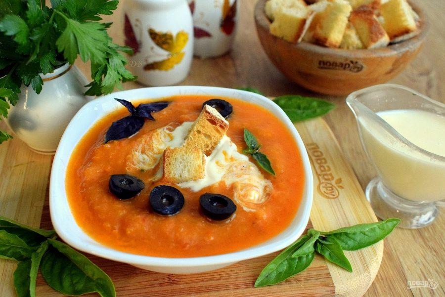 Холодный суп из цукини