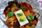 Овощи, запеченные в духовке в фольге