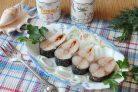 Скумбрия соленая в морозилке