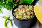 Суп со свежей капустой