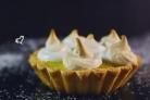 Лимонная тарталетка с меренгой