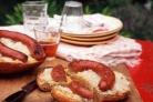 Бутерброды с сосисками и квашеной капустой