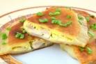 Пирожки с курицей и сыром