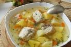 Суп из осетрины с картофелем