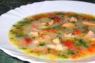 Суп из форели со сливками