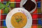 Морковный суп с булгуром