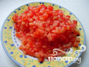 Маленький овощной омлет