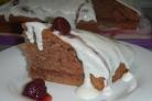 Бисквит из кефира
