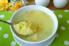 Суп из кукурузной крупы