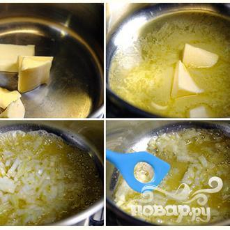 Суп с сыром Чеддер