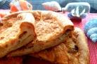 Наливной пирог с рыбой