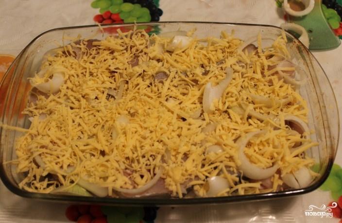 Филе трески в духовке под сыром