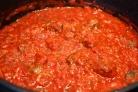 Соус из консервированных помидоров