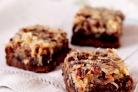 Пирожные с орехами и кокосовой стружкой