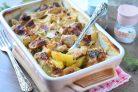 Картофель с мясом в сливках