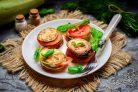 Закуска из помидоров и кабачков