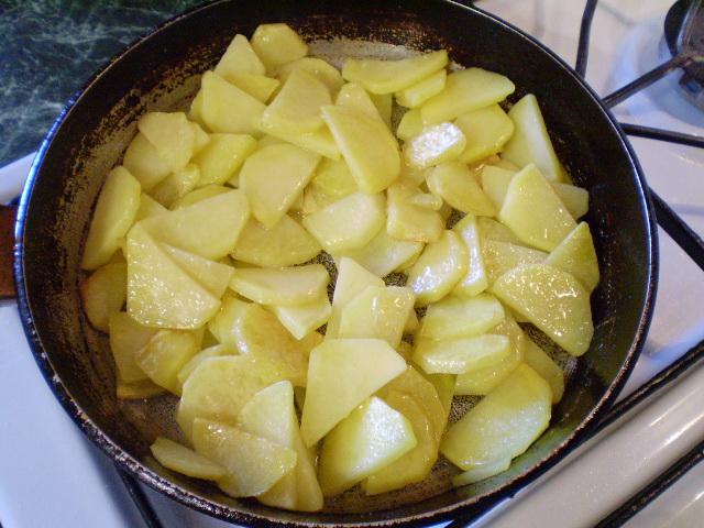 Вкусно Пожарить Картошку На Сковороде С Луком
