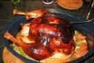 Жареная индейка с овощами