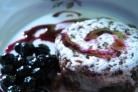 Десерт из яичного белка