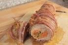 Мясной рулет с морковью