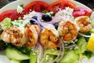 Салат Греческий с креветками