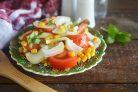 Летний кукурузный салат