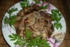 Маслята, жареные с луком