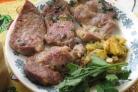 Свиная шейка на сковороде