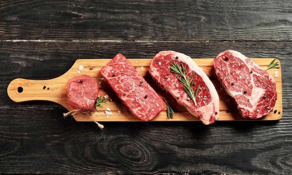Мраморная говядина для бургера