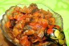Рецепт икры из баклажанов