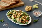 Салат с инжиром и авокадо