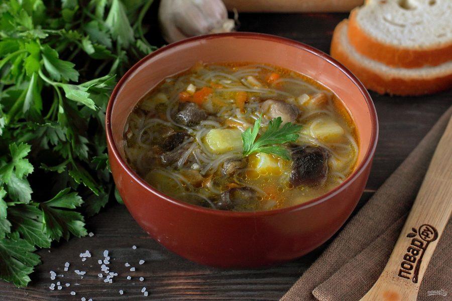 Грибной суп рецепт с фото классический