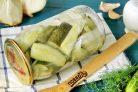 Салат из огурцов Дамские пальчики