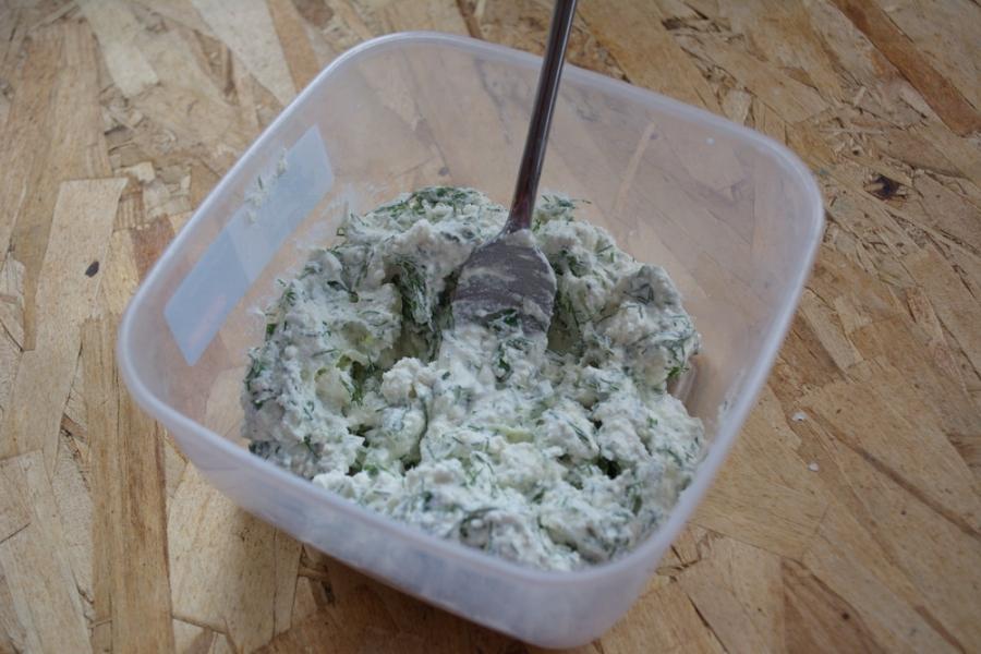 Как сделать творог с зеленью фото 315
