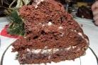 Кефирный торт