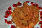 Рагу со свининой и овощами